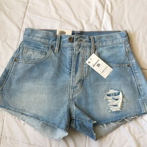 Brand new Levi's high waisted shorts